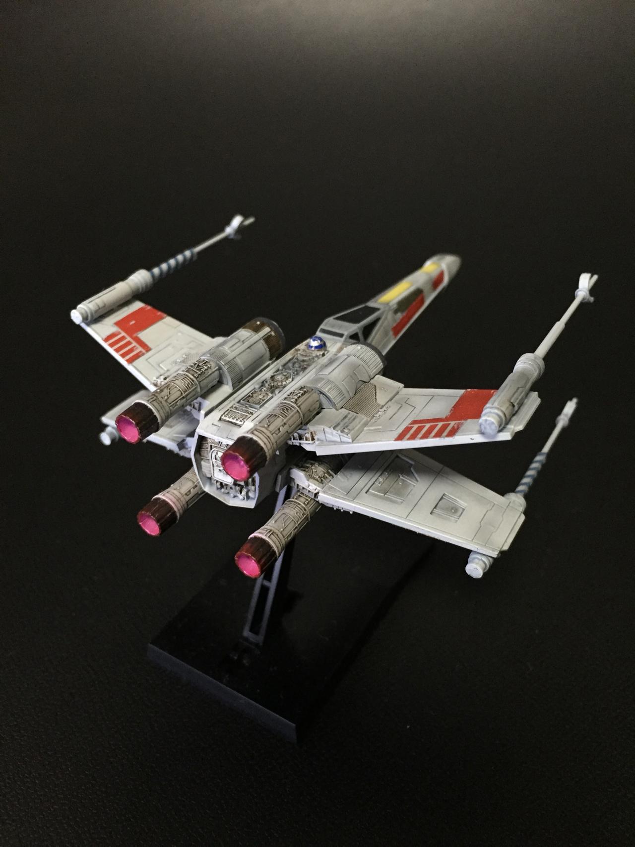 バンダイ ビークルモデル 002 Xウイング・スターファイター