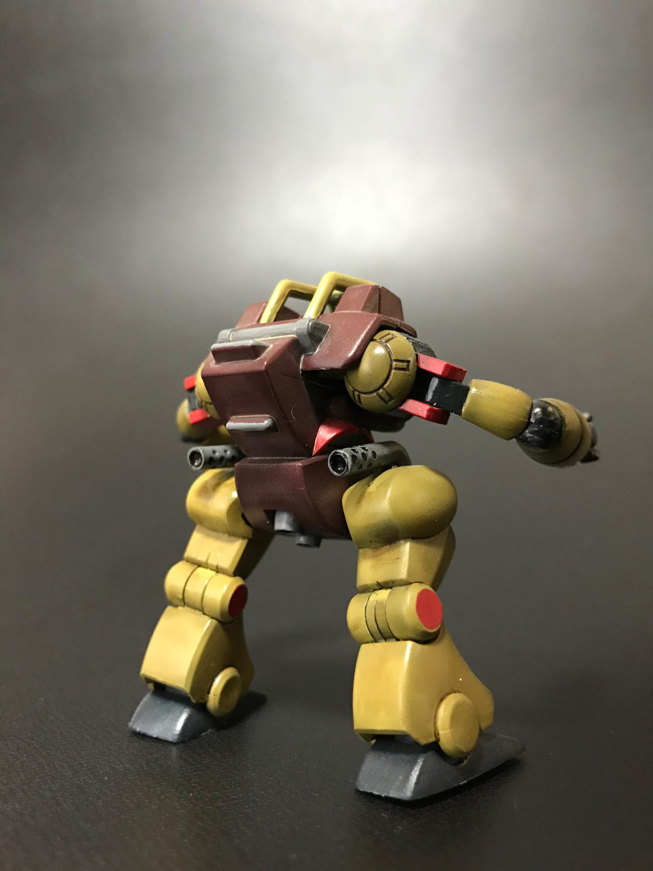 スーパーミニプラ 戦闘メカ ザブングル