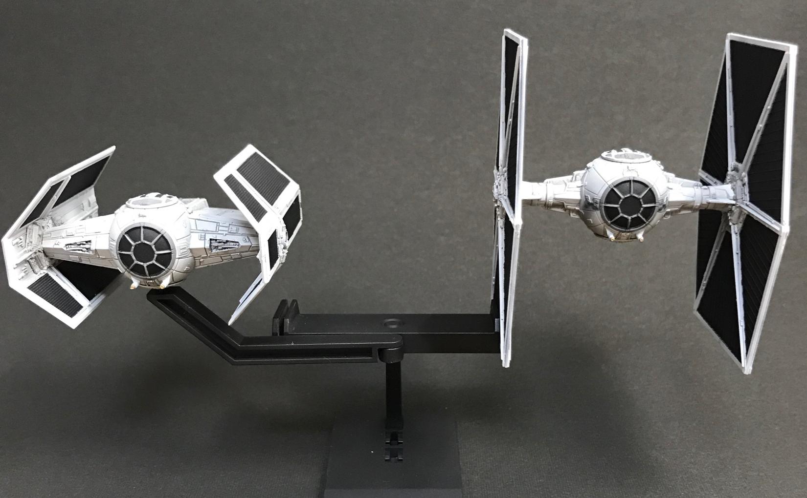 バンダイ ビークルモデル 007 タイ・アドバンストx1 & ファイター セット