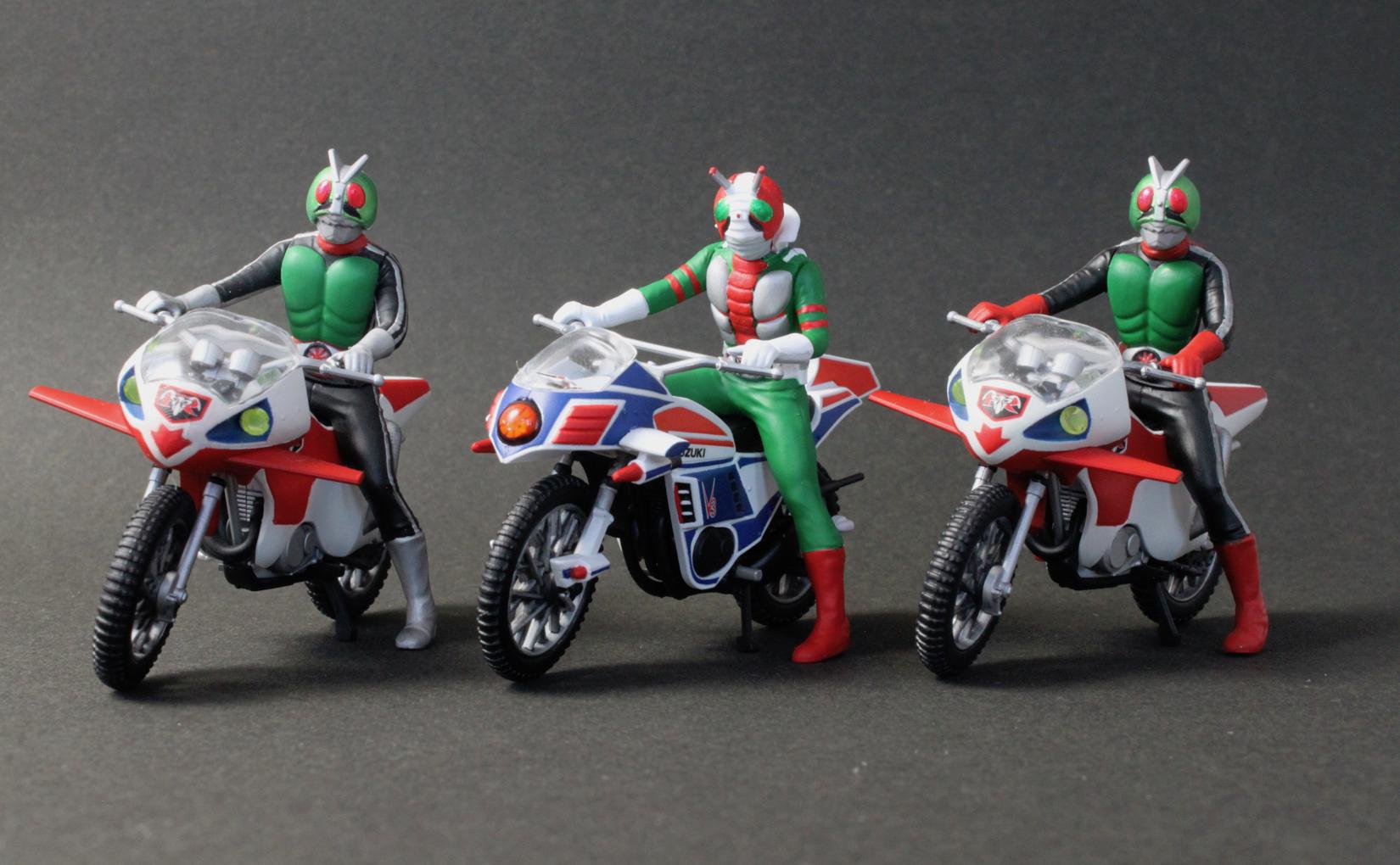バンダイ メカコレクション 仮面ライダーシリーズ 02 ハリケーン